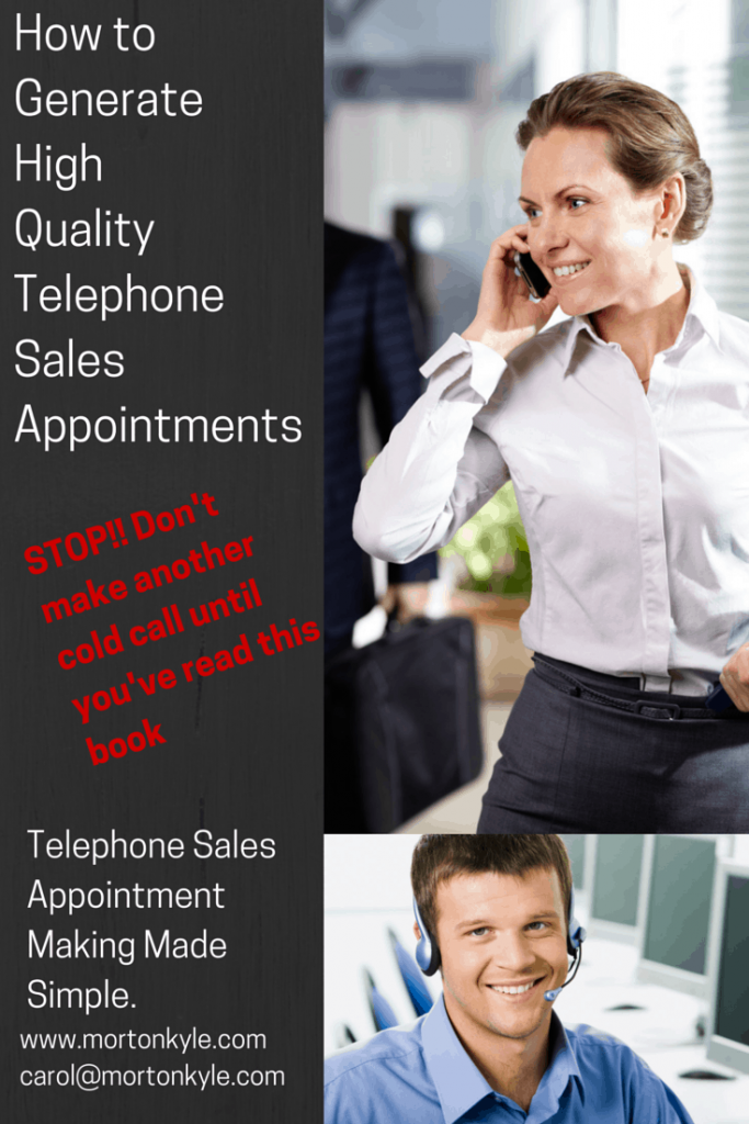 Fill the Sales Diary with High Quality Sales Appointments