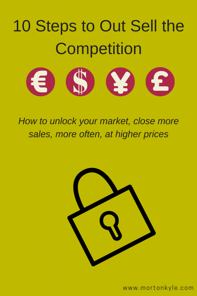 Beat the Competition at Selling NOW