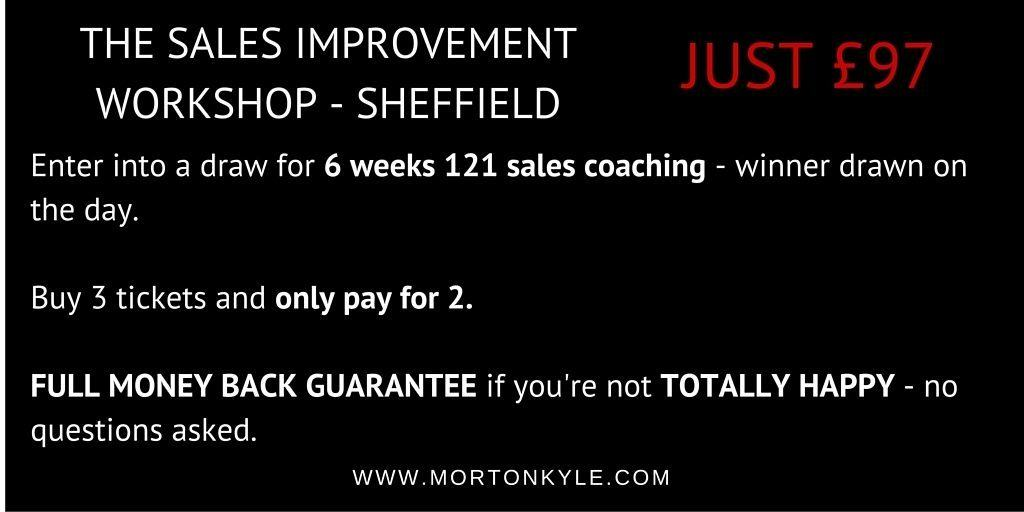 Sales Training Sheffield