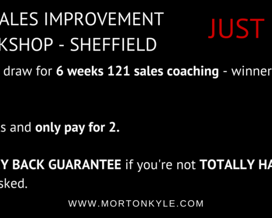 Sales Training Sheffield | Sales Training for Smart B2B Sales People | Improving Sales