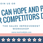 The Sales Improvement Workshop – Fixed Price Sales Training UK
