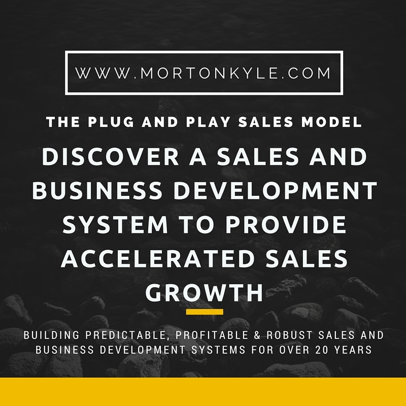 Sales Performance: A Sales and Business Development System to Deliver Accelerated Sales Growth