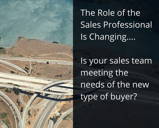 Not Just Sales People – Value Added Problem Solvers