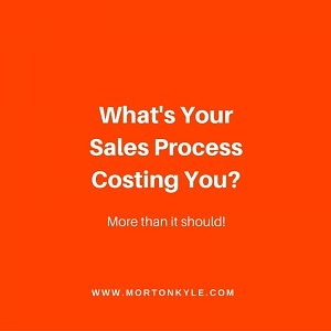 High levels of waste in the Sales Process and how to get rid of it