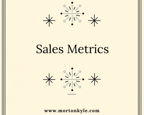 The Perfect Sales Recipe – What Sales Metrics To Use