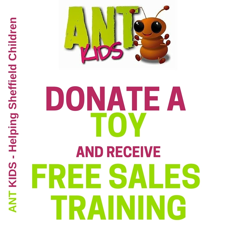 Donate a Child's Gift and Get Free Sales Training - Sheffield