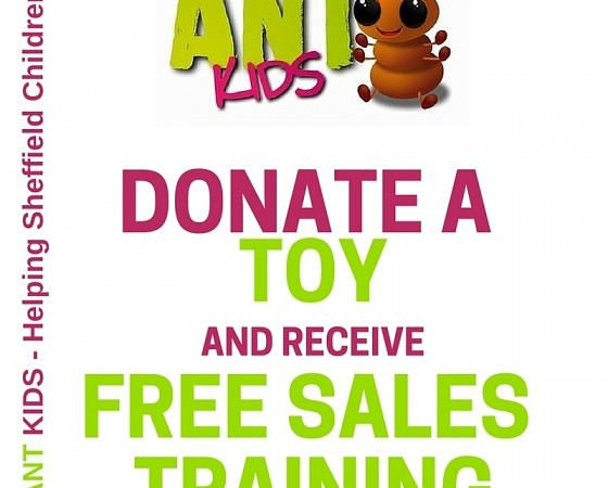 Free Sales Training | Supporting Ant Kids | ANT Marketing | Morton Kyle