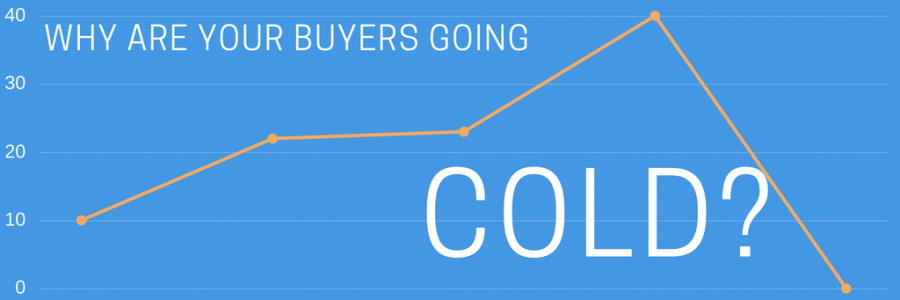 Why Your Buyer Turns Cold When You Start Selling…and what you can do about it.
