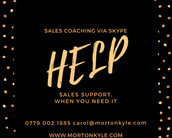 Sales Coaching via Skype – Sales Leaders & Business Owner Managers