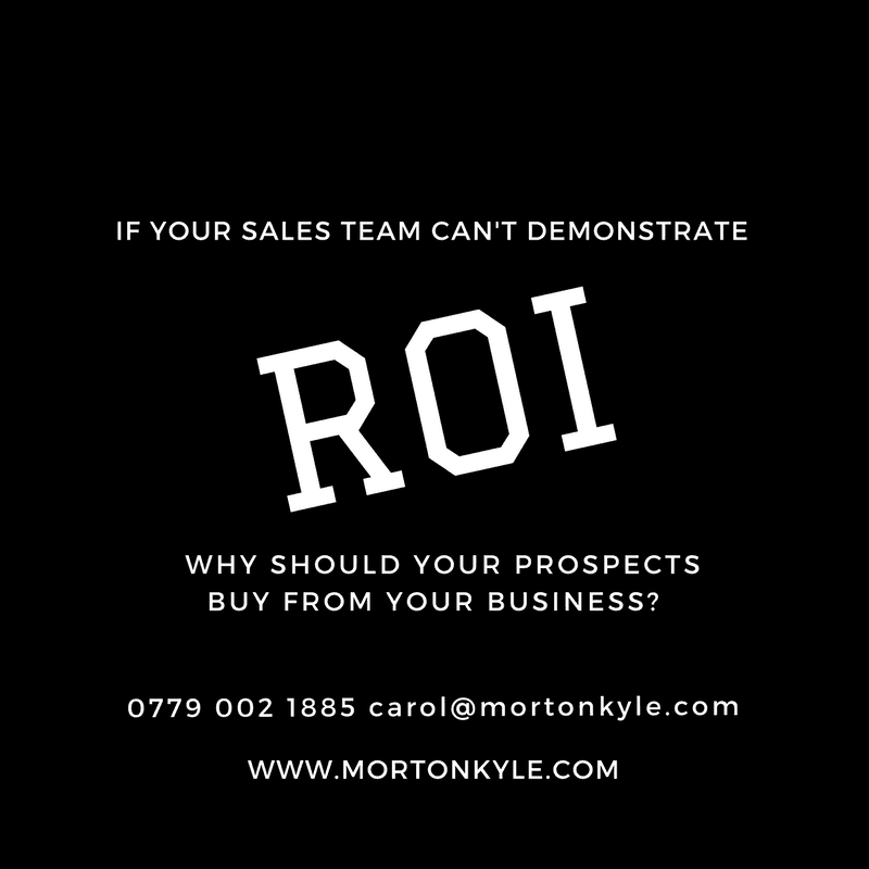 Not Demonstrating ROI? You're Throwing Business Opportunities Away…