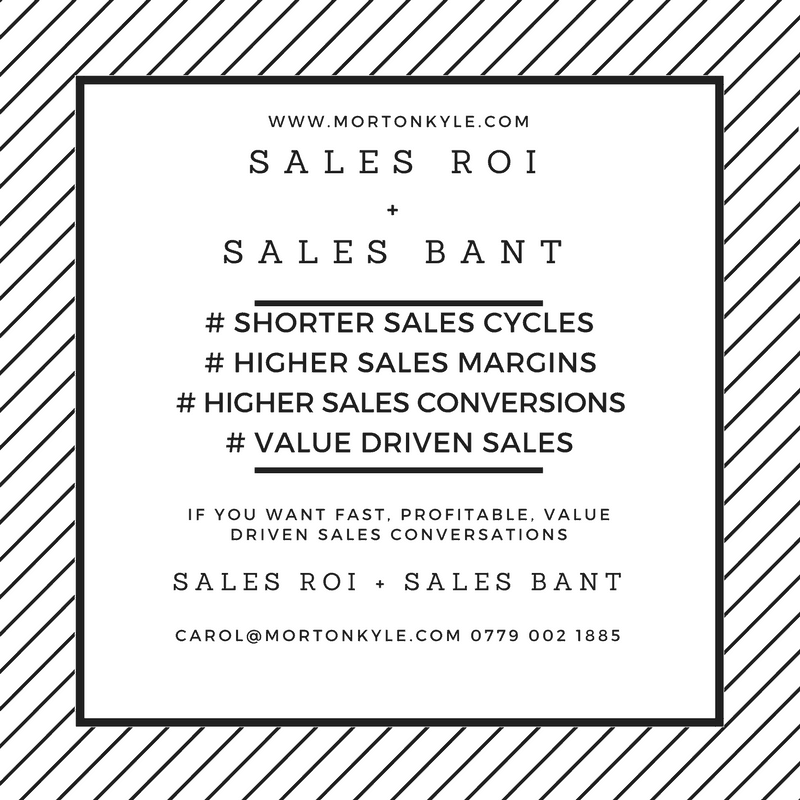Why Sales BANT is Not Enough