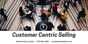 Customer Centric Selling - Question, Listen, Challenge to Deepen Understanding, Repeat