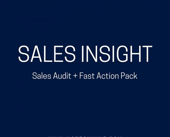 When the Next Best Sales Improvement Step is Missing…