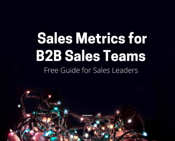 Sales Metrics | Selecting the Best Sales Key Performance Indicators are Critical Success Factor in Driving Sales Improvement
