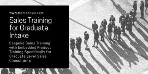 Graduate Sales Training Course