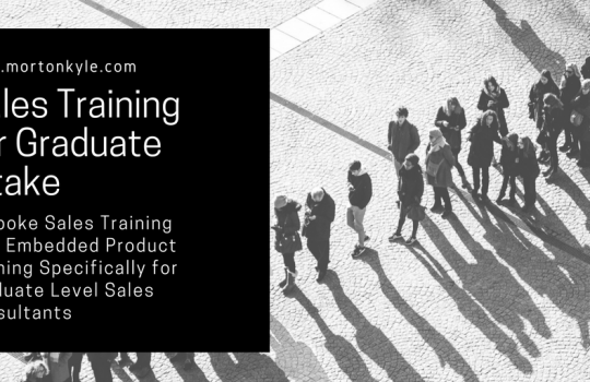 Graduate Sales Training Course | Induction B2B Sales Course for Trainees