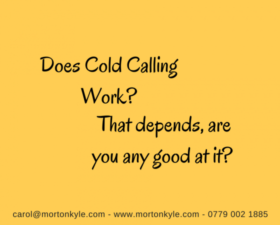 Does Cold Calling Work?