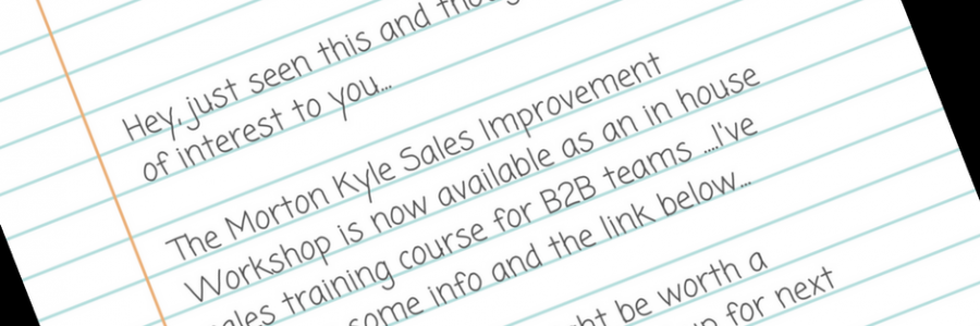 B2B Sales Prospecting Training | How to Engage with High Quality Sales Prospects