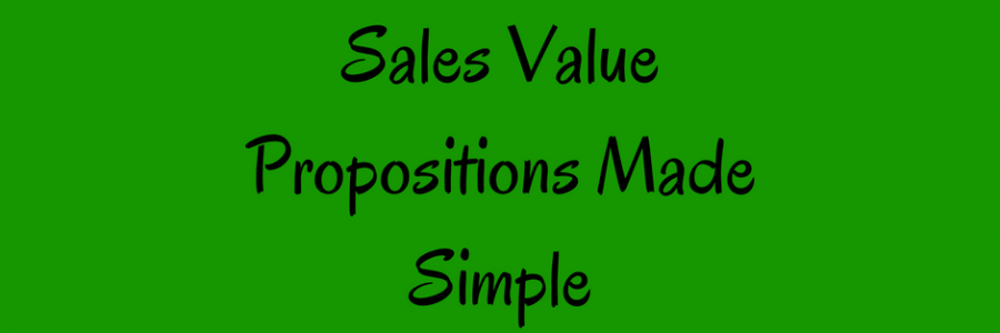 Sales Value Proposition | What does this really mean?