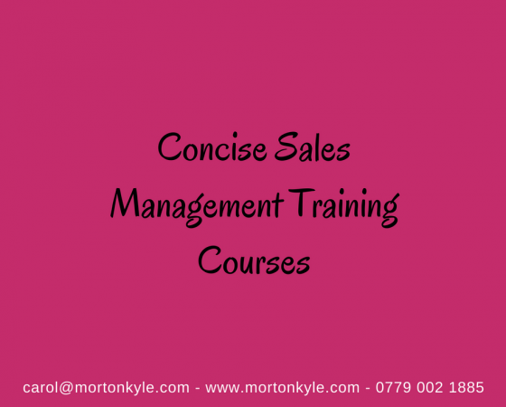 Sales Management Training Courses | Solving Key Sales Problems for Sales Leaders