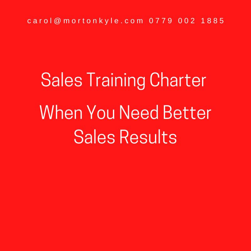 Morton Kyle Sales Training Charter
