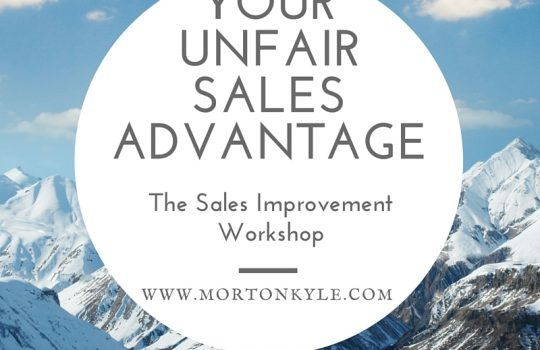 Sales Structure – What You Sell Is Less Important Than How You Sell