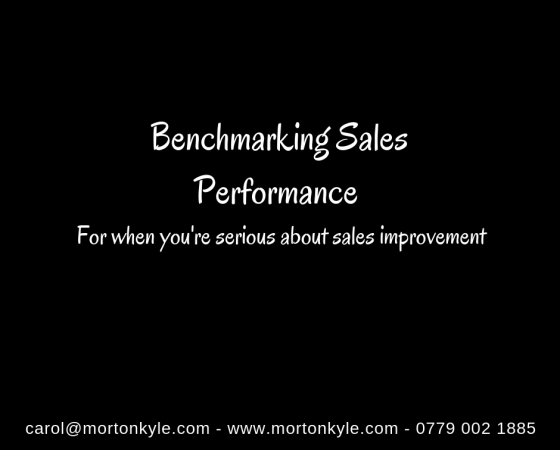 Benchmarking Sales Performance | The Key to Continuous Sales Improvement