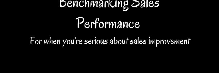 Benchmarking Sales Performance | Don't Leave it Until the Last Minute