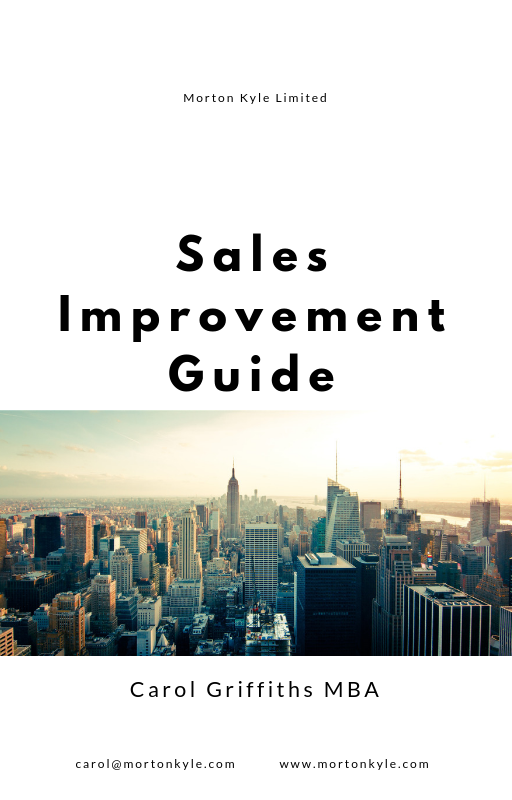 Free Sales Improvement Guide