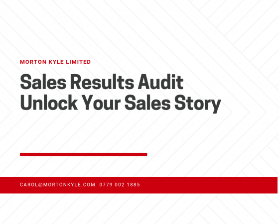 Sales Results Like Profit and Turnover Tell a Story…but not the whole story