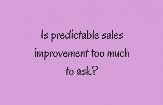 Sales Improvement | Looking Beyond Sales Results