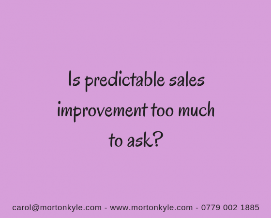 Sales Improvement | Looking Beyond Sales Results