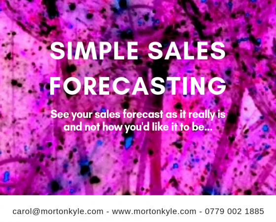 Really Simple Sales Forecasting | Say NO! To Fluffy Sales Forecasts