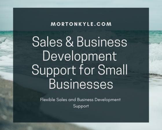 Small Business Development Agency – Sales & Business Development