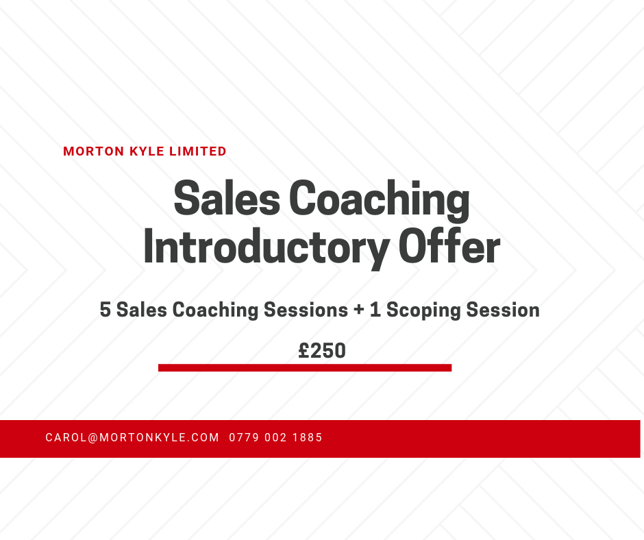 Sales Coaching - Solving Sales Problems Fast