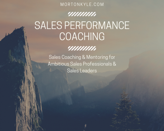 Sales Performance Coaching | Challenge Yourself to Grow | Special Introductory Offer
