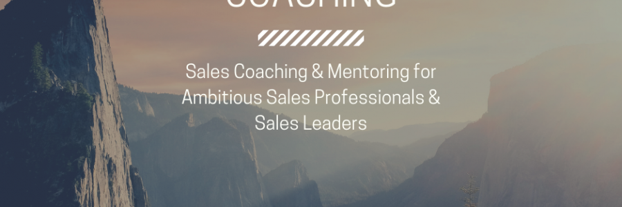 Sales Performance Coaching | Challenge Yourself to Grow