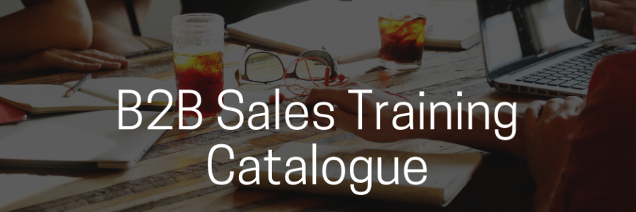 B2B Sales Training Courses