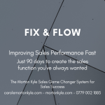 Fix & Flow | Improving Sales Performance Fast | 90 Day Sales Improvement Support