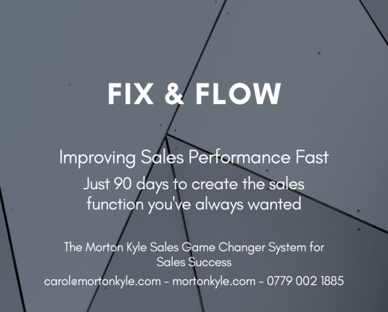 90 Day Sales Sprint Challenge | Fix & Flow | Improve Sales Results Fast