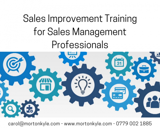 Sales Improvement Training for Sales Leadership and Management