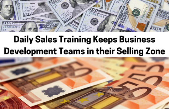 How to Keep Business Development in the Selling Zone